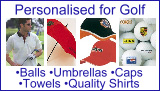 Personalised for Golf, Golf Products